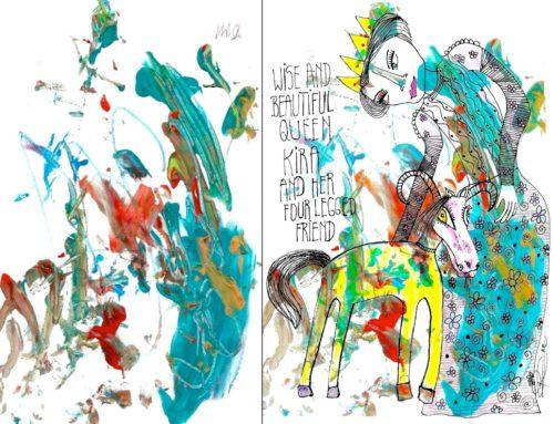 PRINCE EDWARD, PRINCESS SOPHIE & ROXY&KIDS ART